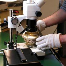 Konzervování-restaurování uměleckořemeslných děl z kovů