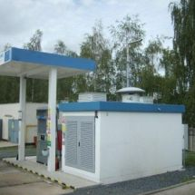 Neratovice, hydrogen filling station