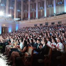Closing ceremony in Prague