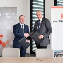 UCT Prague-Unipetrol Partnership Comes of Age - 01